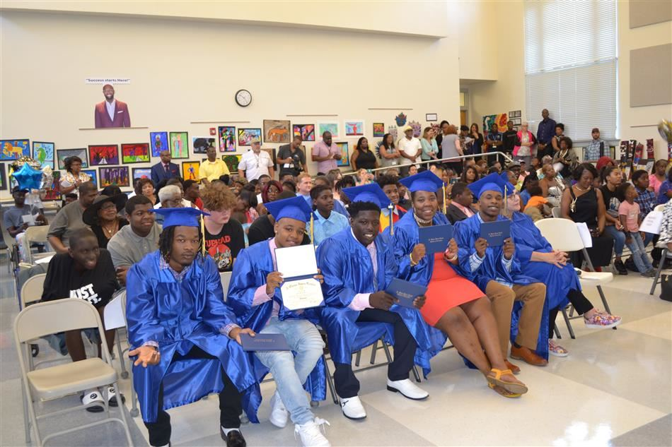 Congratulations to our 2019 A. Quinn Jones High School Graduates