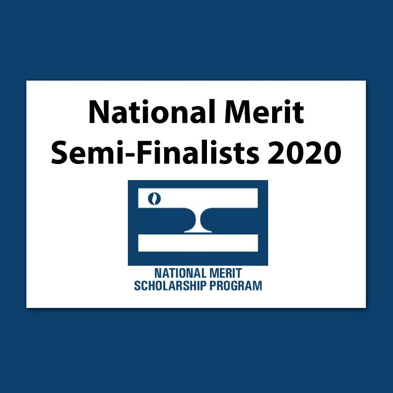 National Merit Semi-Finalists Announced!