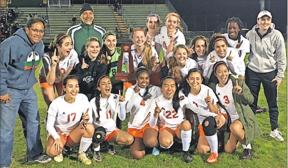 Eastside Girls Win District Soccer Title