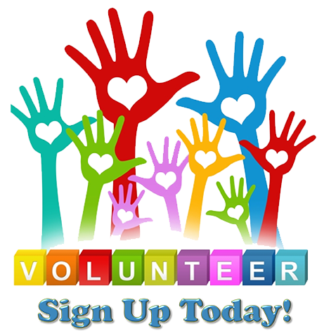 Volunteer Sign Up Today