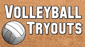 Girls Volleyball Tryouts August 21 & 22. After School till 5:00