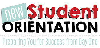 New Student Orientation Link to more information