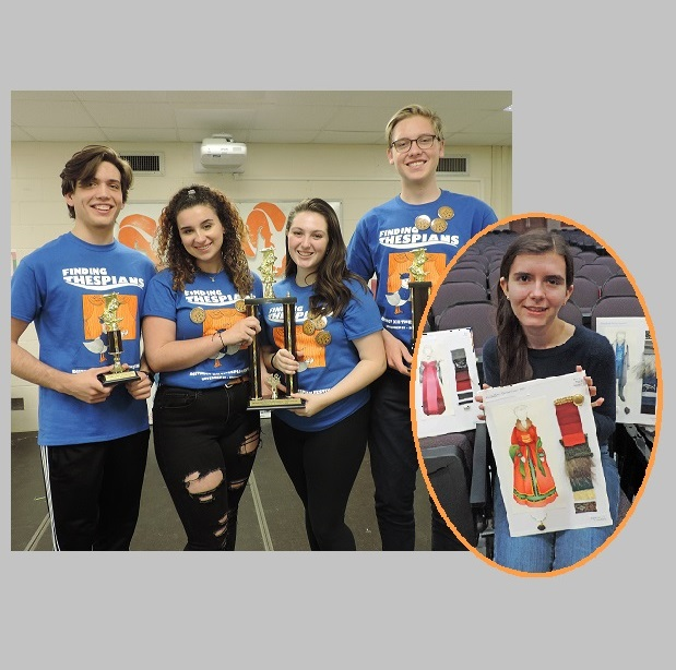 Local students win spots in state thespian competition; EHS, GHS sweep district contest