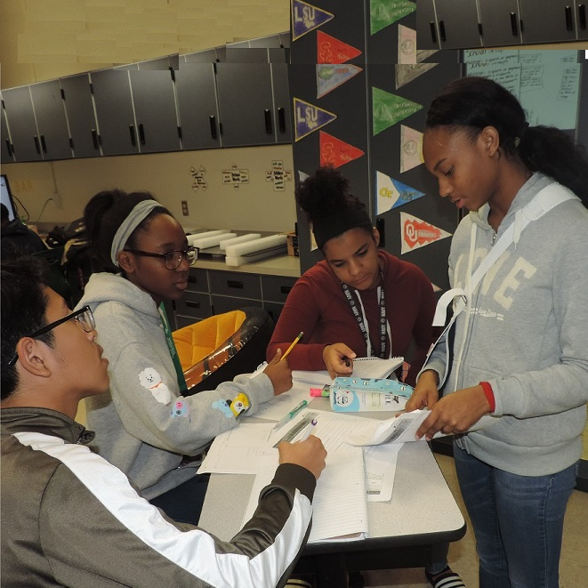 Students in AVID program take charge of their learning and futures