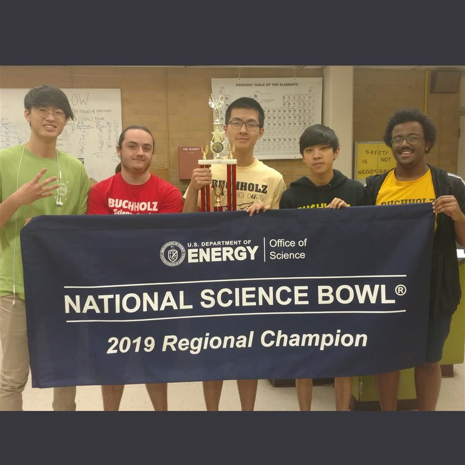 Local students qualify for 4th straight National Science Bowl Competition