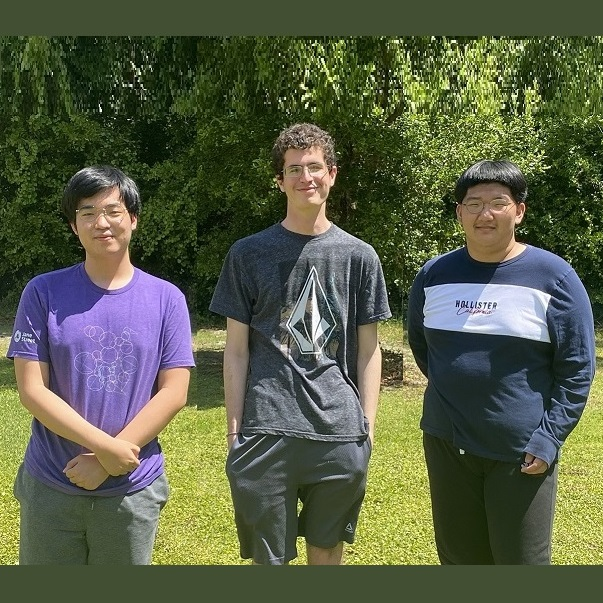 Three Buchholz High students in the running for national math team